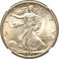 Walking Liberty Half Dollars, 1921-D 50C -- Reverse Improperly Cleaned -- NGC Details. Unc....