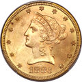 Liberty Eagles, 1883-S $10 MS63 PCGS. CAC....