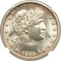 Barber Half Dollars, 1893-S 50C MS65 NGC....