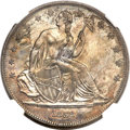 Gobrecht Dollars, 1838 P$1 Name Omitted, Judd-85 Restrike, Pollock-94, High R.7. PR65NGC....