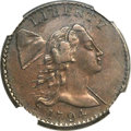 Large Cents, 1794 1C Head of 1794 XF45 NGC. S-26, B-16, R.2....