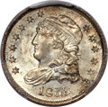 Bust Half Dimes, 1833 H10C MS66 PCGS. CAC. V-6, LM-9, R.2....