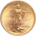 Saint-Gaudens Double Eagles, 1911-D/D $20 MS66 PCGS. FS-501....