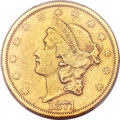 Liberty Double Eagles, 1871-CC $20 -- Cleaning -- PCGS Genuine. XF Details. Variety1-A....