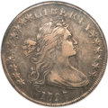 Early Dollars, 1797 $1 10x6 Stars, Large Letters XF45 NGC. B-3, BB-71, R.2....