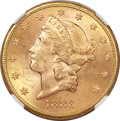 Liberty Double Eagles, 1883-S $20 MS63 NGC....