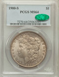 Morgan Dollars: , 1900-S $1 MS64 PCGS. CAC. PCGS Population (1563/598). NGC Census:(884/214). Mintage: 3,540,000. Numismedia Wsl. Price for ...