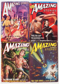 Pulps:Science Fiction, Amazing Stories Group (Ziff-Davis, 1938-51) Condition: AverageVG....