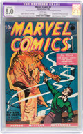 Golden Age (1938-1955):Superhero, Marvel Comics #1 (Timely, 1939) CGC Apparent VF 8.0 Extensive (P) White pages....