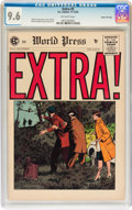 Golden Age (1938-1955):Crime, Extra! #5 Gaines File pedigree 10/12 (EC, 1955) CGC NM+ 9.6 Off-white pages....