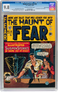 Golden Age (1938-1955):Horror, Haunt of Fear #16 (#2) Gaines File pedigree 3/9 (EC, 1950) CGCNM/MT 9.8 Off-white to white pages....