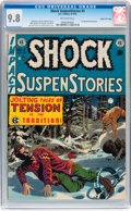 Golden Age (1938-1955):Horror, Shock SuspenStories #3 Gaines File pedigree 7/12 (EC, 1952) CGCNM/MT 9.8 Off-white pages....