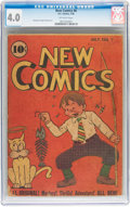 Golden Age (1938-1955):Cartoon Character, New Comics #6 (DC, 1936) CGC VG 4.0 Off-white pages....