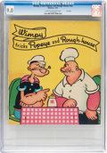 Platinum Age (1897-1937):Miscellaneous, Wimpy Tricks Popeye and Rough-House #nn File Copy (Whitman, 1937)CGC VF/NM 9.0 Cream to off-white pages....