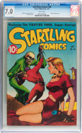 Golden Age (1938-1955):Science Fiction, Startling Comics #46 (Better Publications, 1947) CGC FN/VF 7.0White pages....