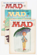 Magazines:Mad, Mad Group (EC, 1961-78) Condition: Average GD/VG....