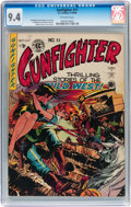 Golden Age (1938-1955):Western, Gunfighter #11 (EC, 1949) CGC NM 9.4 Off-white pages....