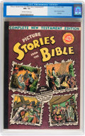 Golden Age (1938-1955):Religious, Picture Stories from the Bible Complete New Testament (40¢) (EC,1945) CGC NM+ 9.6 Off-white to white pages....