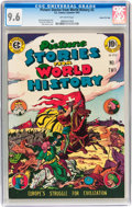 Golden Age (1938-1955):Non-Fiction, Picture Stories from World History #2 Gaines File pedigree 3/11(EC, 1947) CGC NM+ 9.6 Off-white pages....
