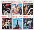 Pulps:Science Fiction, Galaxy Box Lot (Universal Publishing, 1954-78) Condition: AverageGD/VG....