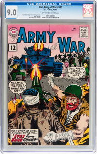 Our Army at War #113 (DC, 1961) CGC VF/NM 9.0 Off-white to white pages