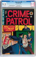 Golden Age (1938-1955):Crime, Crime Patrol #10 (EC, 1949) CGC NM- 9.2 Off-white to white pages....