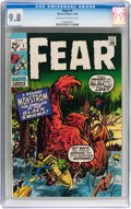 Bronze Age (1970-1979):Horror, Fear #1 (Marvel, 1970) CGC NM/MT 9.8 Off-white to white pages....
