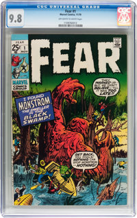 Fear #1 (Marvel, 1970) CGC NM/MT 9.8 Off-white to white pages