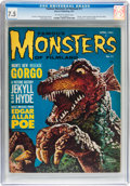 Magazines:Horror, Famous Monsters of Filmland #11 (Warren, 1961) CGC VF- 7.5 Off-white to white pages....