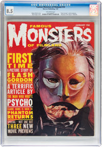 Famous Monsters of Filmland #10 (Warren, 1961) CGC VF+ 8.5 Off-white pages