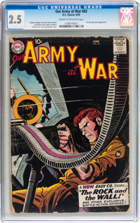 Our Army at War #83 (DC, 1959) CGC GD+ 2.5 Cream to off-white pages