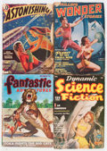 Pulps:Science Fiction, Assorted Science Fiction Pulps Box Lot (Various, 1940-52)Condition: Average VG....