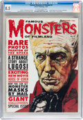 Magazines:Horror, Famous Monsters of Filmland #9 (Warren, 1960) CGC VF+ 8.5 Off-white to white pages....