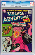 Silver Age (1956-1969):Science Fiction, Strange Adventures #184 Savannah pedigree (DC, 1966) CGC NM+ 9.6Off-white to white pages....