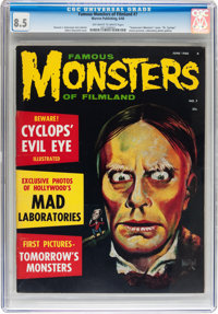 Famous Monsters of Filmland #7 (Warren, 1960) CGC VF+ 8.5 Off-white to white pages