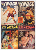 Pulps:Adventure, Doc Savage Group (Street & Smith, 1936-37) Condition: Average VG-.... (Total: 4 Items)