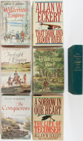 Books:Fiction, Allan W. Eckert. Group of Seven Books, One Signed. Variouspublishers and printings. Sorrow in Our Heart is signed. One... (Total: 7 Items)