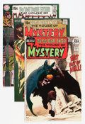 Bronze Age (1970-1979):Horror, House of Mystery Group (DC, 1970-72) Condition: Average VF+.....(Total: 9 Comic Books)