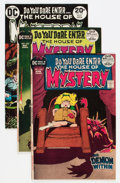 Bronze Age (1970-1979):Horror, House of Mystery Savannah pedigree Group (DC, 1972-75) Condition:Average VF/NM.... (Total: 6 Comic Books)