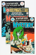 Bronze Age (1970-1979):Horror, House of Mystery Savannah pedigree Group (DC, 1974-75) Condition:Average NM-.... (Total: 5 Comic Books)