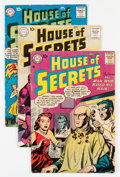 Silver Age (1956-1969):Mystery, House of Secrets Savannah pedigree Group (DC, 1957-60).... (Total:7 Comic Books)