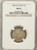 Liberty Nickels: , 1883 5C No Cents MS63 NGC. NGC Census: (1023/4565). PCGS Population(1519/4861). Mintage: 5,479,519. Numismedia Wsl. Price ...