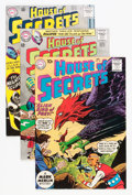 Silver Age (1956-1969):Mystery, House of Secrets Savannah pedigree Group (DC, 1960-77).... (Total:4 Comic Books)