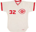 Baseball Collectibles:Uniforms, 1985-86 #32 Cincinnati Reds Jersey. ...