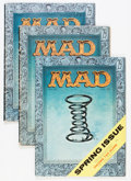 Magazines:Mad, Mad #28 Group (EC, 1956).... (Total: 3 Comic Books)