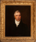Fine Art - Painting, European, BRITISH SCHOOL (19th Century). Portrait of John Barge Irwell theYounger. Oil on canvas. 30-1/4 x 25 inches (76.8 x 63.5...