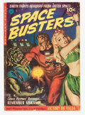 Golden Age (1938-1955):Science Fiction, Space Busters #2 (Ziff-Davis, 1952) Condition: VG....