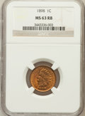 Indian Cents: , 1898 1C MS63 Red and Brown NGC. NGC Census: (64/332). PCGSPopulation (110/335). Mintage: 49,823,080. Numismedia Wsl. Price...