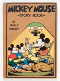 Memorabilia:Comic-Related, Mickey Mouse Story Book (David McCay, 1931) Condition: VG....