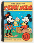Platinum Age (1897-1937):Miscellaneous, Big Little Book #4062A The Story of Mickey Mouse (Whitman, 1935)Condition: VG-....